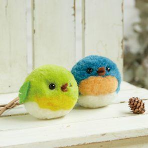 PomPom球小鳥材料包