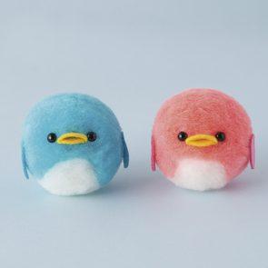 PomPom球企鵝材料包