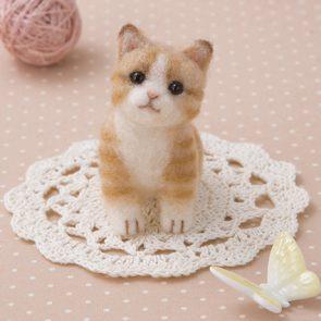 啡紋小貓材料包