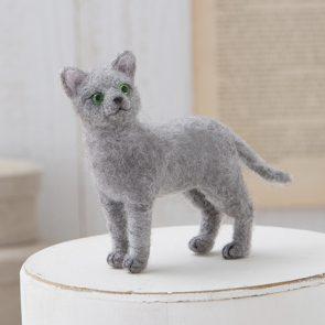 擬真俄羅斯藍貓材料包