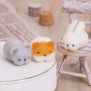 小兔、倉鼠與老鼠材料包