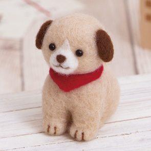 可愛簡易小狗材料包