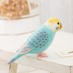擬真藍色虎皮鸚鵡材料包