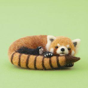 懶洋洋小熊貓材料包