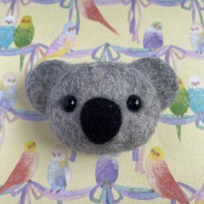 動物頭心口針 – 樹熊