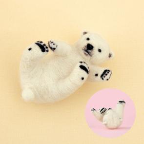 北極熊寶寶材料包