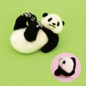 擬真熊貓材料包