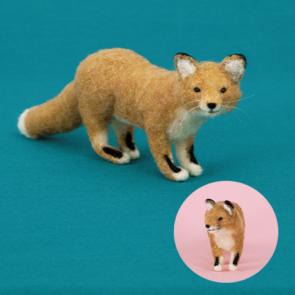 擬真狐狸材料包