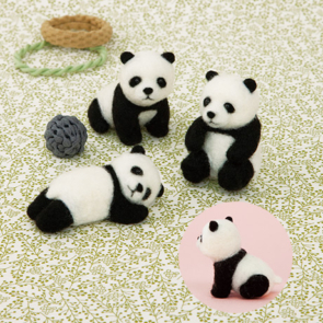 熊貓寶寶三兄弟材料包