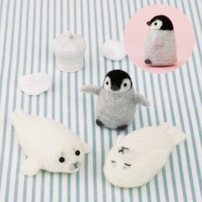 企鵝海豹寶寶三兄弟材料包